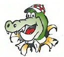 Croc Pizza Logo